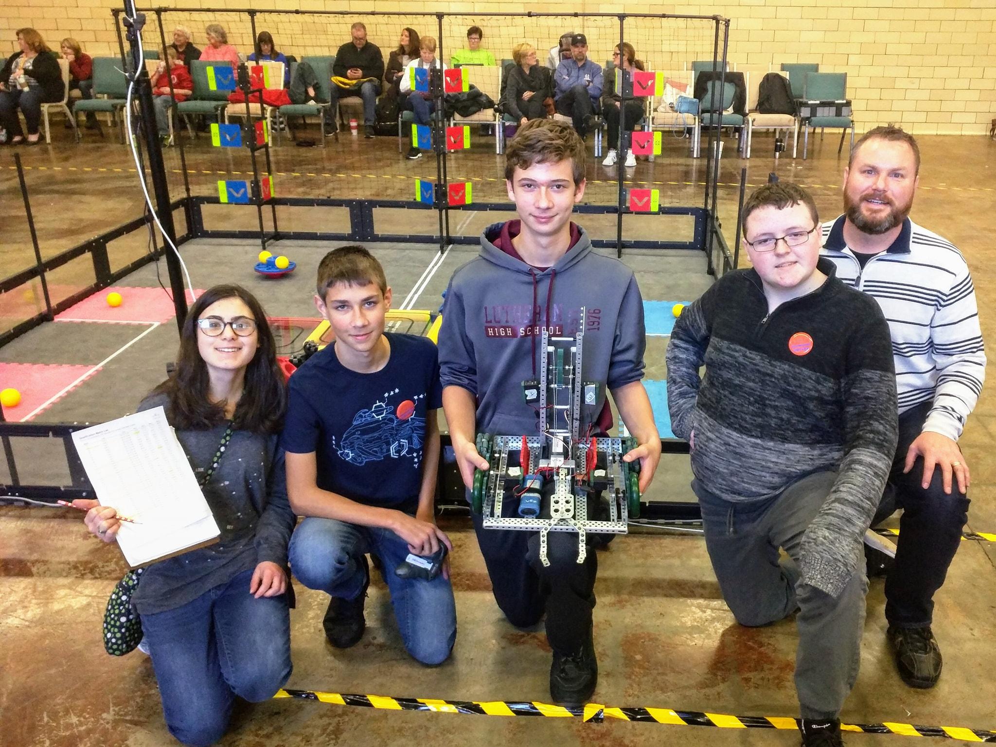 """LHS Robotics Team, """"Circuit Breakers"""""""