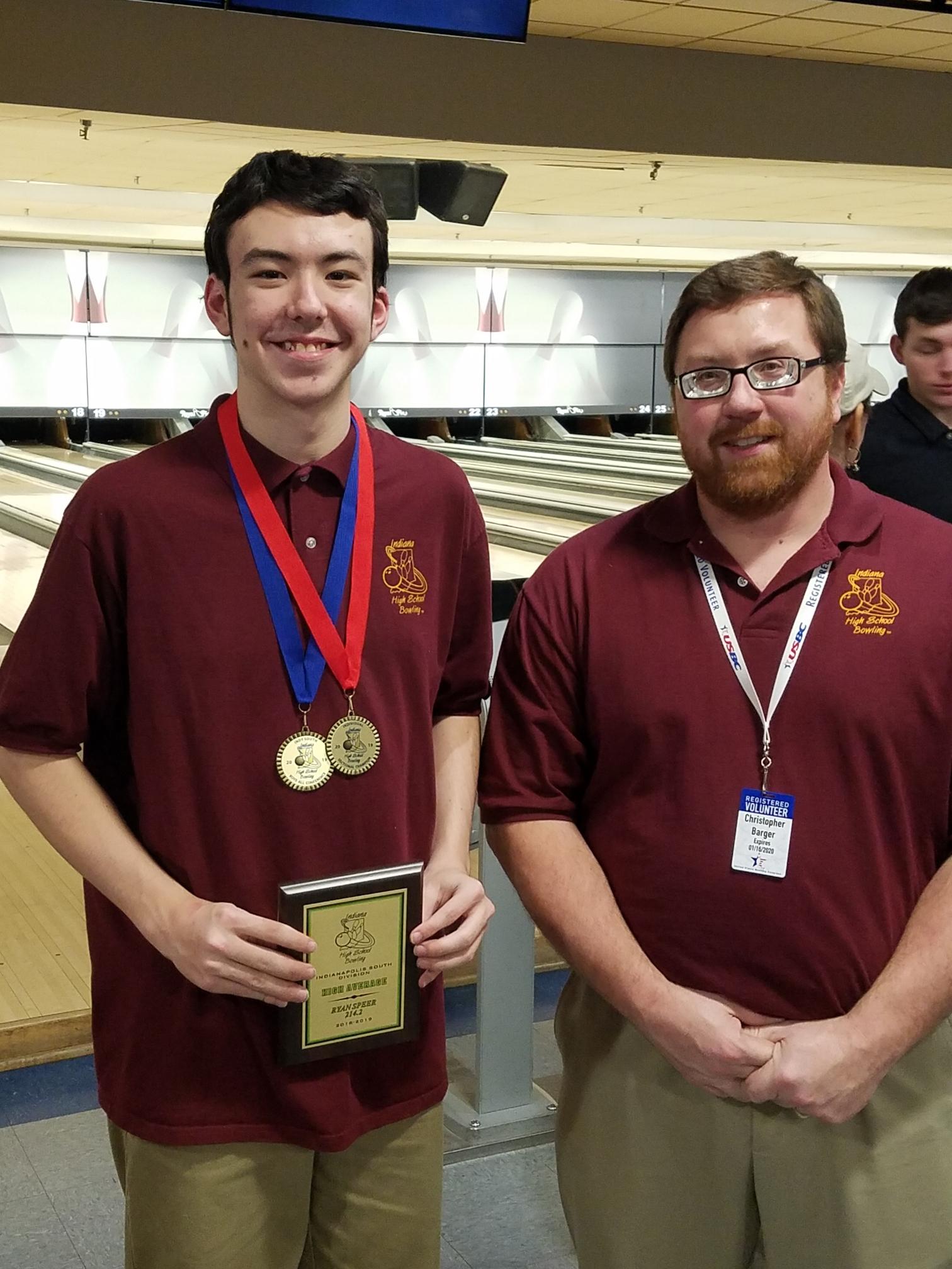 Ryan Speer, LHS Bowling