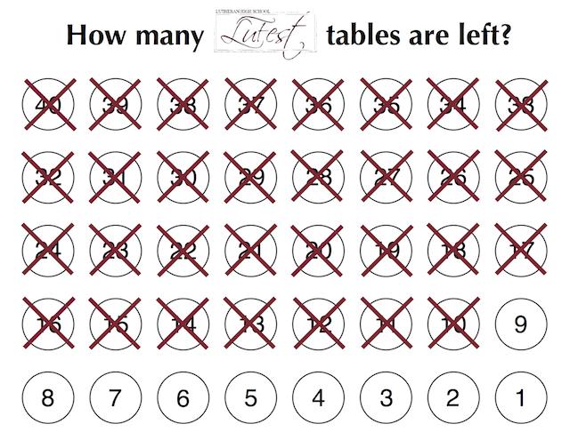 LuFest tables left