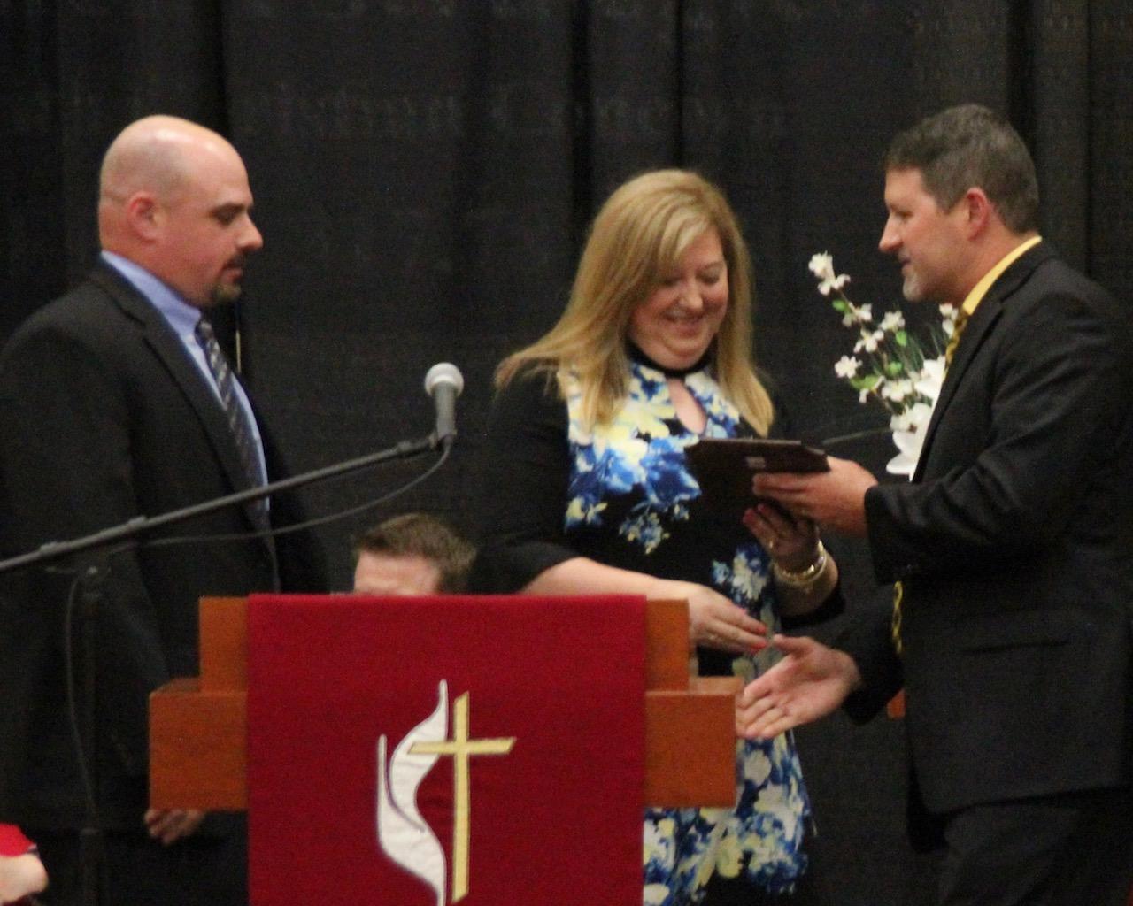 Jim and Beth Knight, Benning Service Award